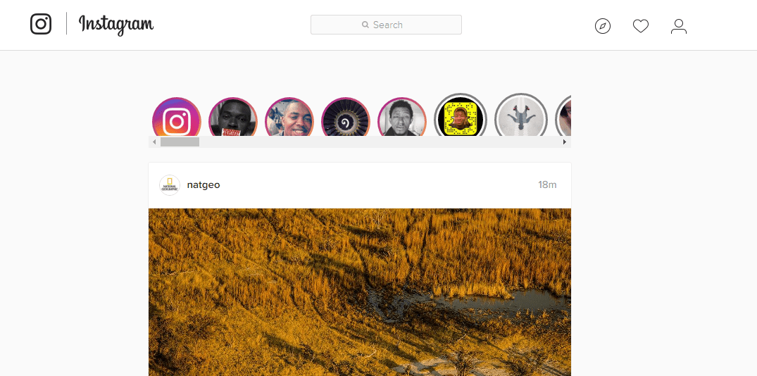 how to make a story on ig from a computer