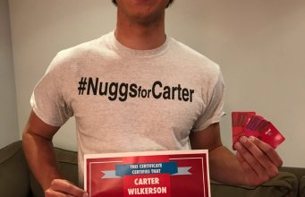 nuggs for carter most retweeted tweet