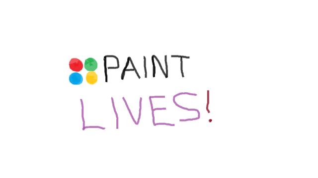 MS Paint lives
