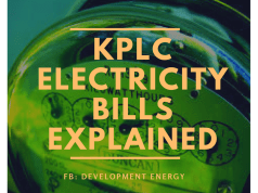 KPLC Electricity Bills Explained