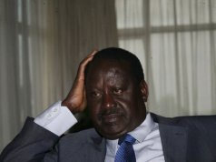 raila odinga swearing in twitter gaffe