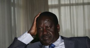 raila odinga swearing in twitter gaffe