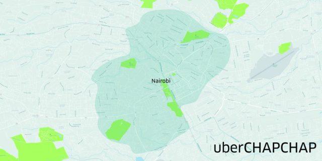 uberchapchap nairobi map
