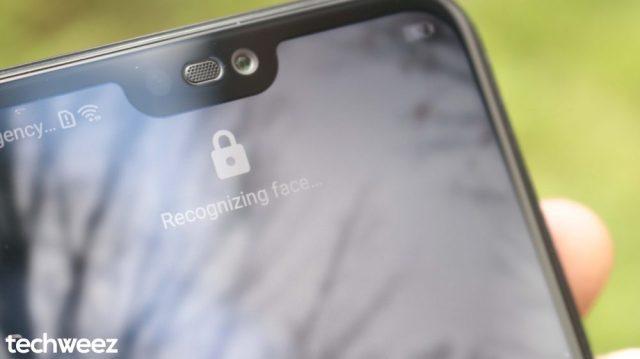 Huawei P20 Lite Face Unlock