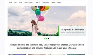 webify wordpress theme feature image