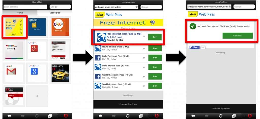 opera handler apk free internet