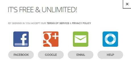 Signup for service