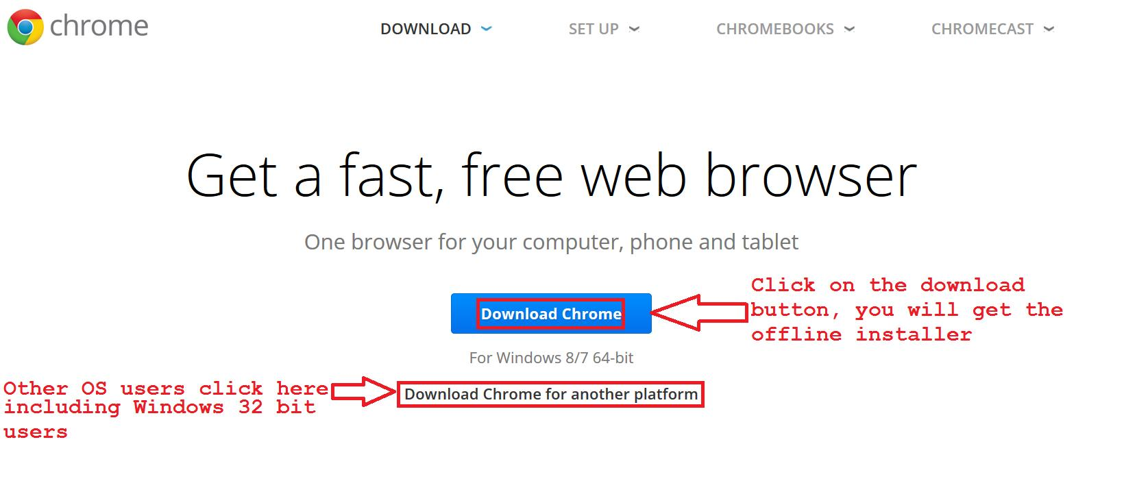Google Chrome 76 FINAL Full Offline Installer Download Windows 10