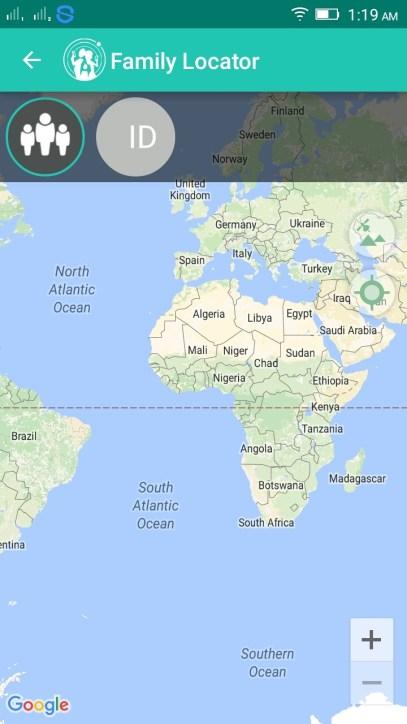 GPS location