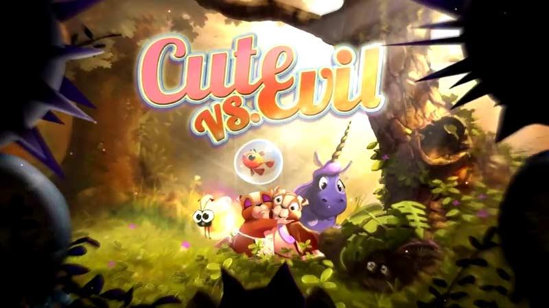 Cute vs Evil The Original Swipe and Pop iPhone or iPad Game
