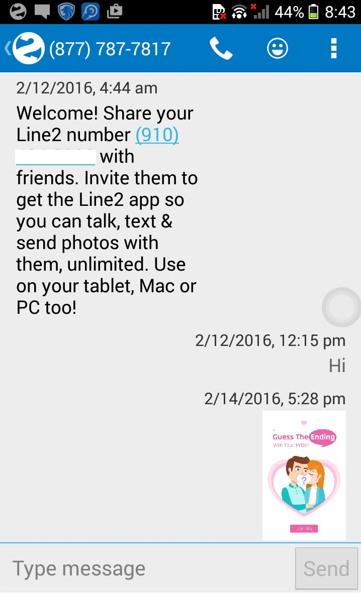 Line2 Android App Offers Free Cloud Phone Number With VoIP And MMS
