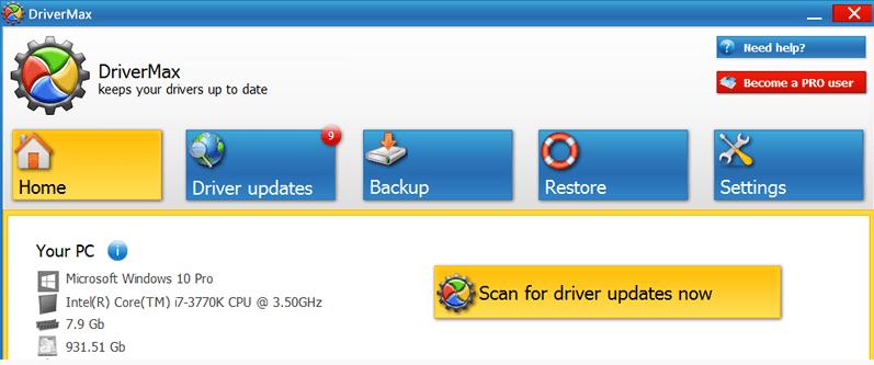 windows 10 driver updates free