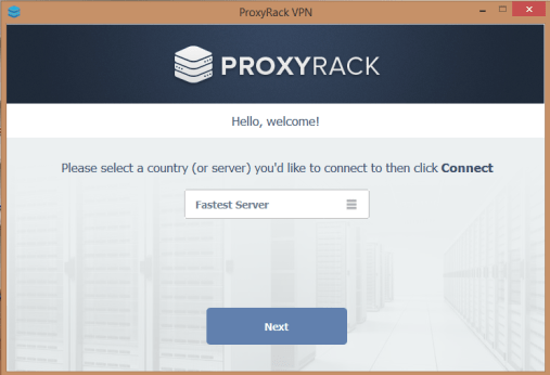 proxyrack client for windows 10