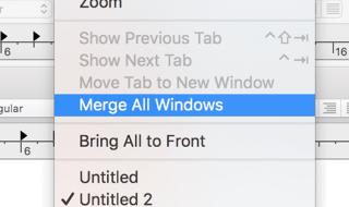 combining windows