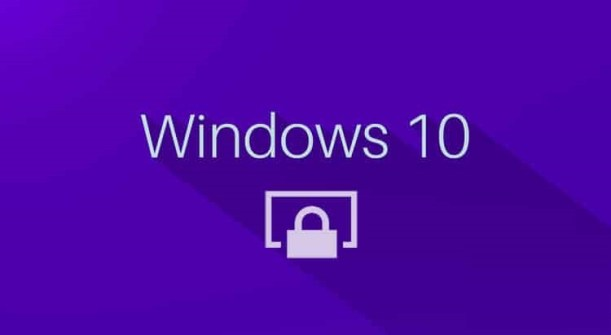 windows 10 lock