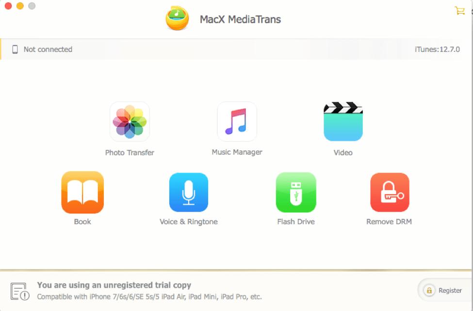MacX MediaTrans - Best iTunes Alternative To Backup iPhone