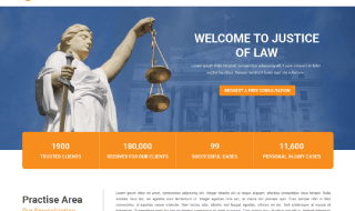 Justice WordPress Theme for Law Websites