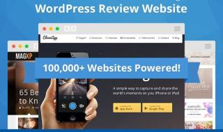 review pro powered websites