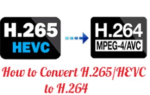 How to Convert H 265 Or HEVC to H 264 on Windows 10 PC