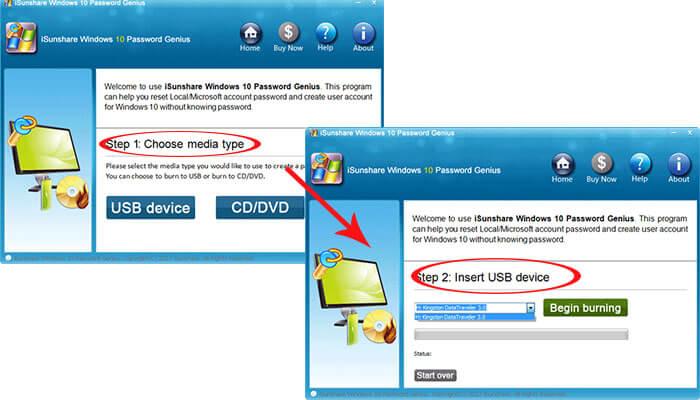 C:\Users\Administrator\Desktop\techwibe\create-the-reset-disk-with-isunshare.jpg
