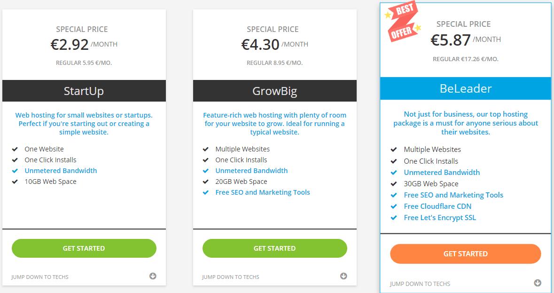 NextPointHost Best web hosting plans