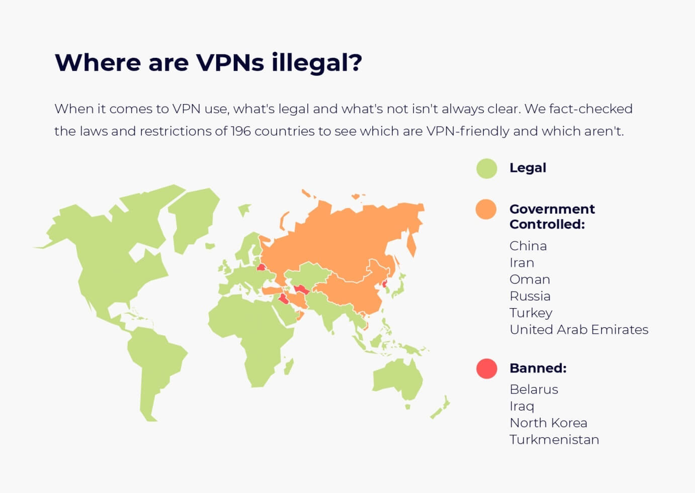 Is VPN legal in your country?