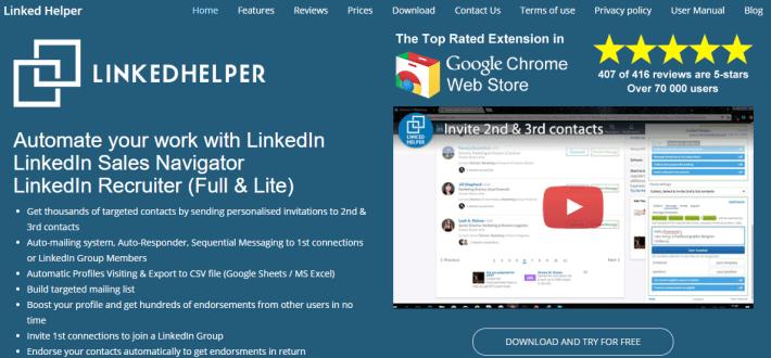 LinkedIn Helper