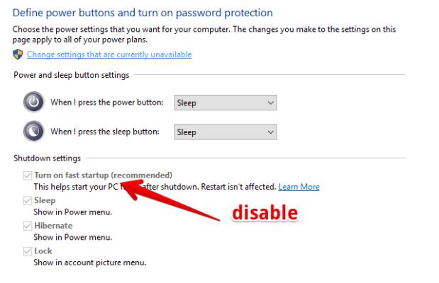 fix slow boot windows 10