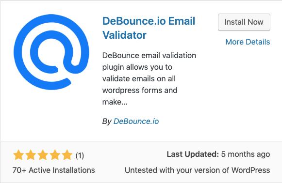 debounce email