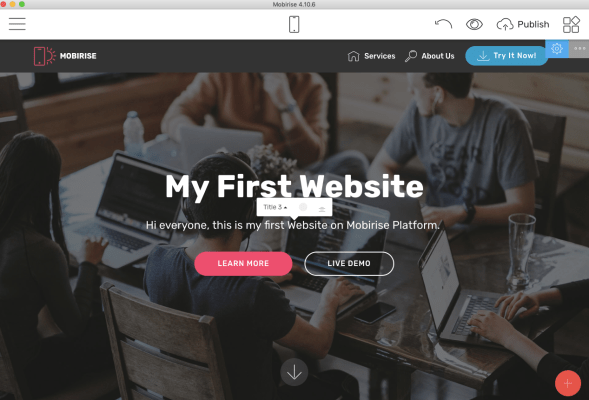 mac website builder