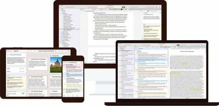 mac writing app