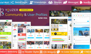 Youzer - The best wordpress community