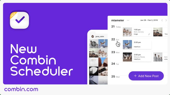 Combin Instagram Scheduler