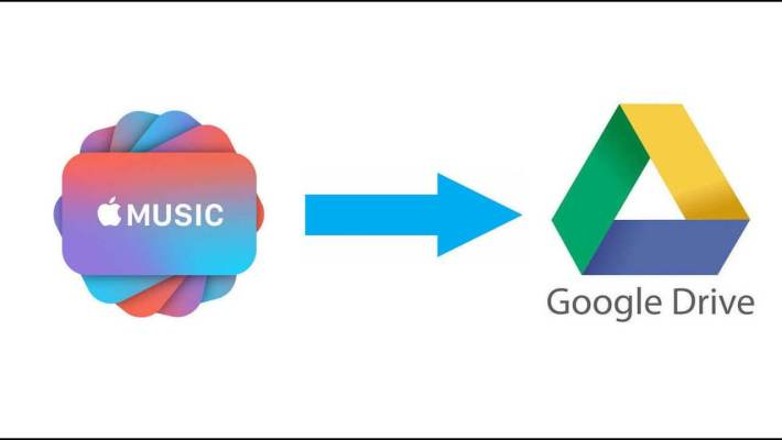 music to google drive