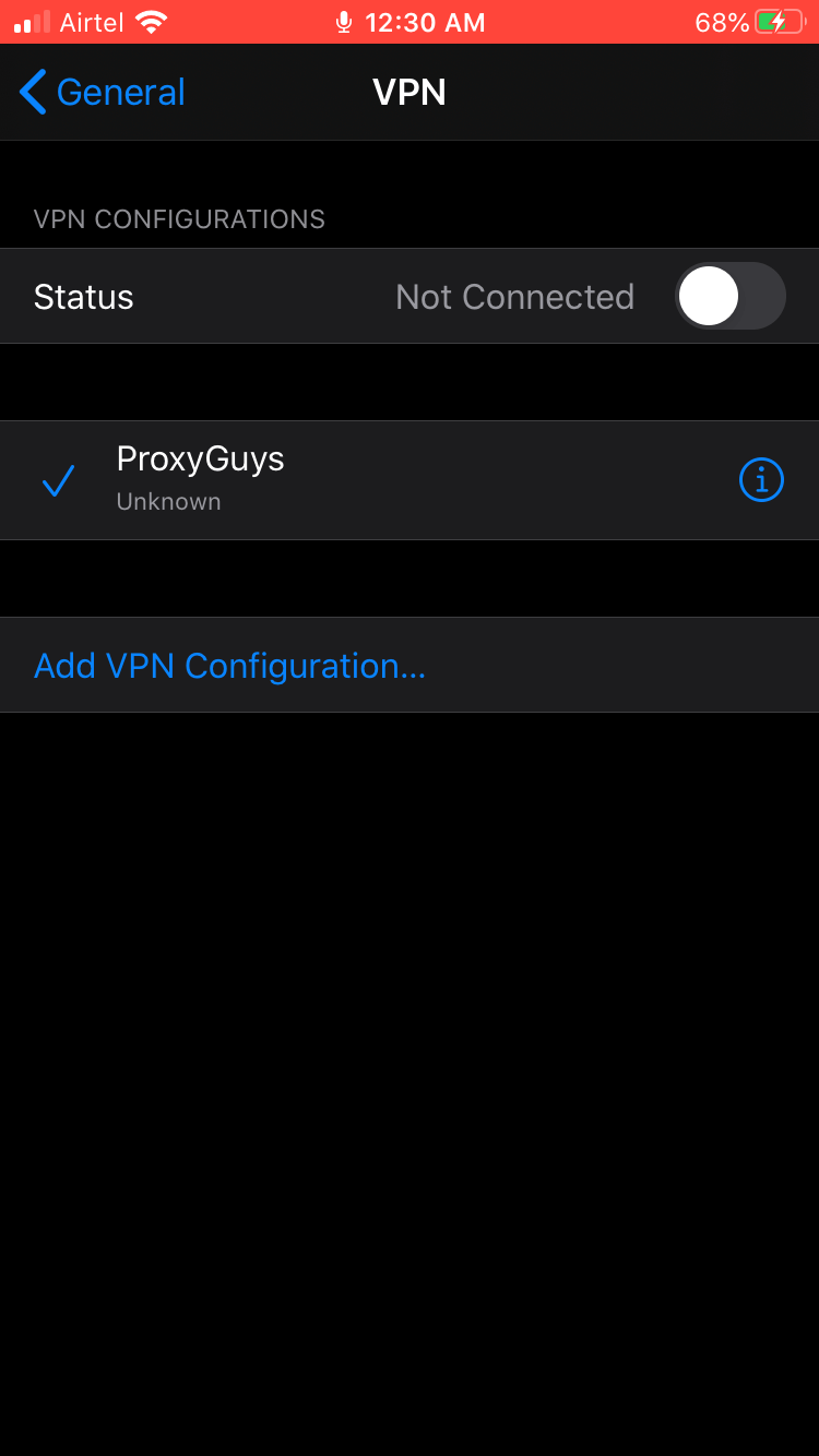 Setup ProxyGuys VPN or Proxy - 11