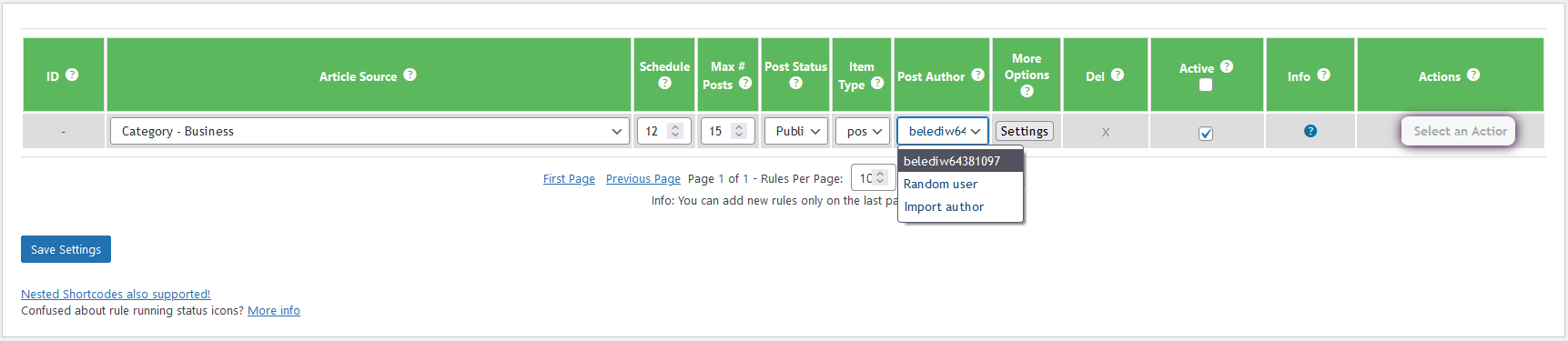 Add custom news posts - 8