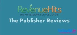 Revenuehits Review for publishers | Best Google Adsense Alternative