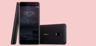 Nokia N6 Android smartphone