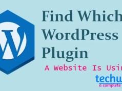 find which wordpress plugin a website is using