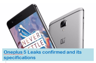 OnePlus 5 leaks confirmed launch date hint at 8GB RAM