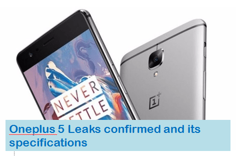 oneplus 5 leaks and launch date