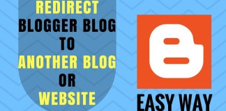 redirect Blogger Blog To Another Blog