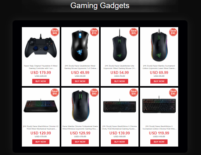 Razer Flash Deals