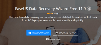 EaseUS Data Recovery Wizard Free 11.9 Review