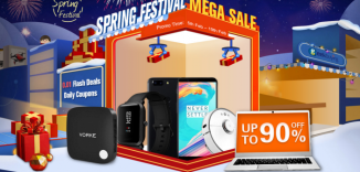 Geekbuying Spring Festival Mega Sale Up to 90% Off/Flash Sale