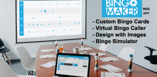 Bingo Maker website