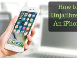 How to Unjailbreak An iPhone
