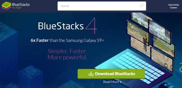 Blustacks emulator for PC