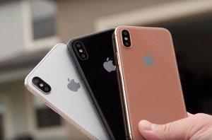 The iPhone 8 would hit the market with a new color option called Blush Gold