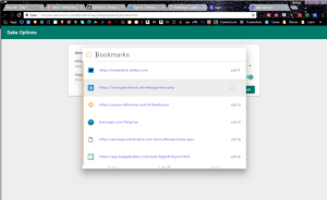 Saka: Chrome extension to manage your tabs